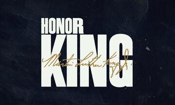 NBA: Φόρος τιμής στη ζωή και την κληρονομιά του Μάρτιν Λούθερ Κινγκ