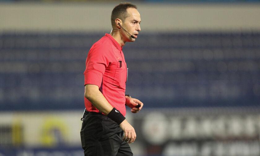 Super League 1: Ο Διαμαντόπουλος στο Ολυμπιακός - ΠΑΣ. Κροάτης διαιτητής στο Βόλος - Λαμία