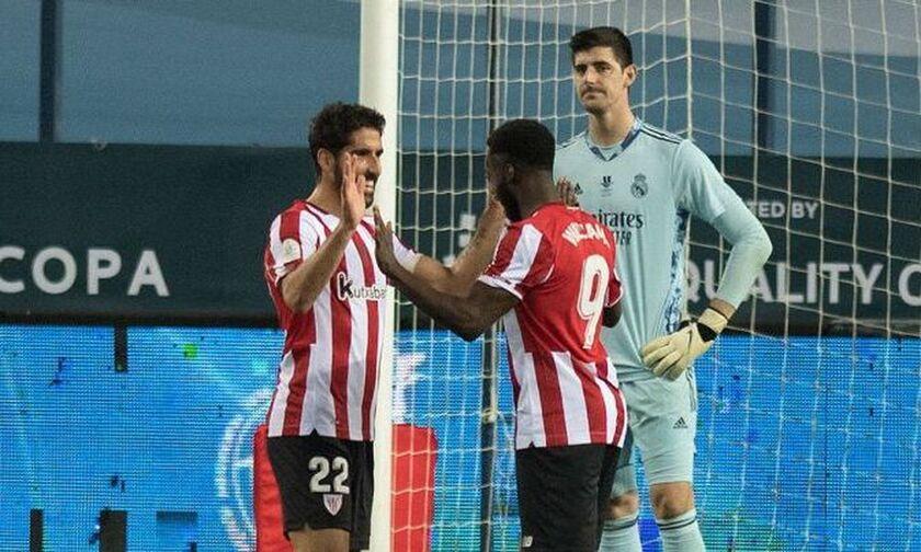 Ρεάλ Μαδρίτης - Μπιλμπάο: Η Αθλέτικ προηγείται 0-2 με δύο γκολ του Ραούλ Γκαρθία (vids)