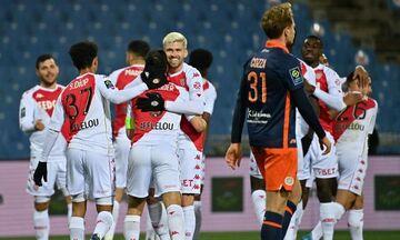 Ligue 1: Διπλό τετράδας (2-3) για Μονακό στο Μονπελιέ!