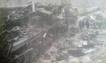 Το πολύνεκρο σιδηροδρομικό δυστύχημα στον Δοξαρά