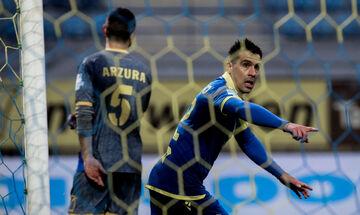 Αστέρας Τρίπολης - Παναιτωλικός: Το γκολ του Μουνάφο για το 1-0 (vid)