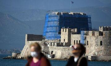 Κατανομή κρουσμάτων κορονοϊού (16/1): 52 στο Κέντρο της Αθήνας, 67 στη Θεσσαλονίκη, 28 στον Πειραιά