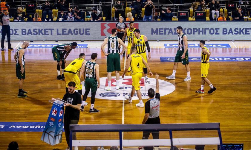Basket League: Άρης - Παναθηναϊκός... εξ αναβολής