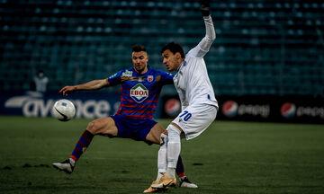 Βόλος - Λαμία: Ο Δουβίκας κάνει το 1-0 και ο Ντέλετιτς ισοφαρίζει αμέσως σε 1-1 (vids)