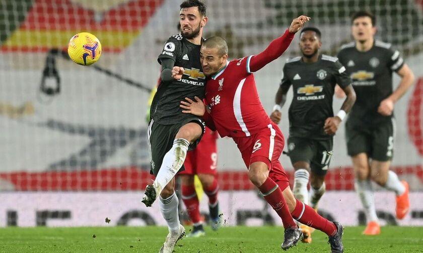 Λίβερπουλ - Μάντσεστερ Γιουνάιτεντ 0-0: Πολλή τακτική αλλά ουσία μηδέν (highlights)