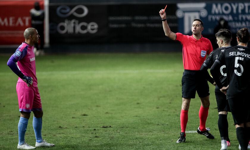 ΟΦΗ – ΠΑΟΚ 0-3: Βάτερμαν: «Δεν περίμενα ότι θα έδινε κόκκινη» (vid)