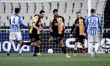ΑΕΚ - Ατρόμητος: Δείτε  πέναλτι που έκανε ο Σάλομον και το 1-0 με τον Ολιβέιρα (vid)