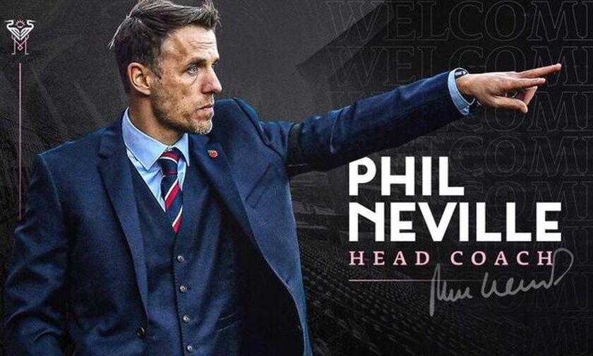 Ίντερ Μαϊάμι: Νέος προπονητής ο Φιλ Νέβιλ