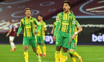 Premier League: H Γουέστ Χαμ ευρωπαϊκά όνειρα με το 2-1 επί της Γουέστ Μπρομ (Highlights)