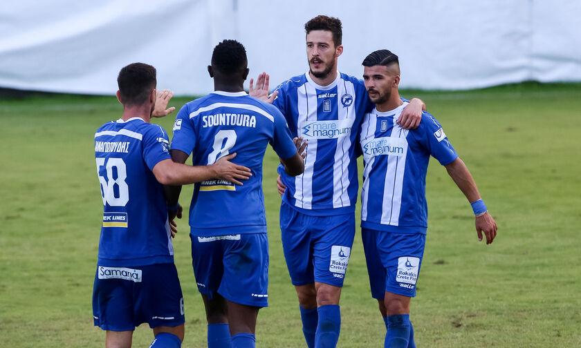 Λεβαδειακός - Χανιά: Το γκολ του Μπαρμπίγια για το 0-1 (vid)