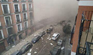 Ισχυρή έκρηξη στο κέντρο της Μαδρίτης (vid)