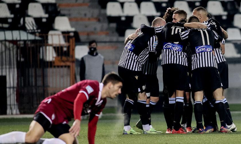 Κύπελλο Ελλάδας: ΠΑΟΚ - ΑΕΛ 5-0: Πέντε και λίγα ήταν...