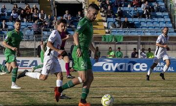 Λεβαδειακός - Χανιά: Το γκολ του Λιάγκα για το 1-1 (vid)