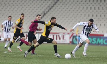 ΑΕΚ - Απόλλων Σμύρνης: Ο Σιμάνσκι από κοντά το 1-0 (vid)