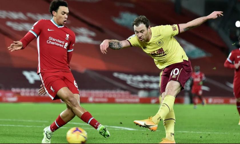 Premier League: Υπό κατάρρευση- Η Λίβερπουλ ηττήθηκε 1-0 από την Μπέρνλι στο Άνφιλντ!  (highlights)