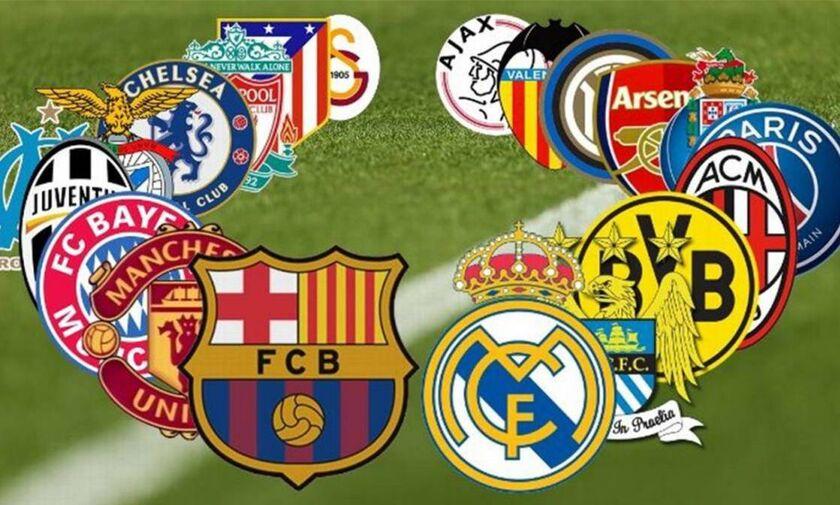 Ευρωπαϊκή Super League με έσοδα 4 δις ευρώ: Η διοργάνωση που τρέμουν FIFA και UEFA