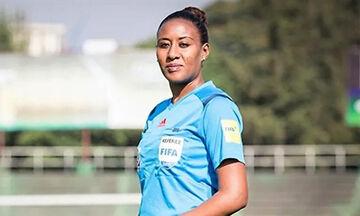 Λίντια Ταφέσε, η πρώτη γυναίκα διαιτητής του Κόπα Άφρικα