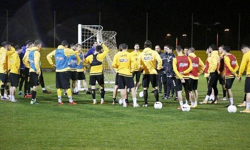 ΑΕΚ: Η αποστολή του Χιμένεθ για το ματς με τον ΠΑΟΚ (pic)