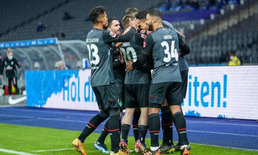 Bundesliga: Τεσσάρα η Βέρντερ στο Βερολίνο, κάζο για Λειψία και Λεβερκούζεν! (highlights)