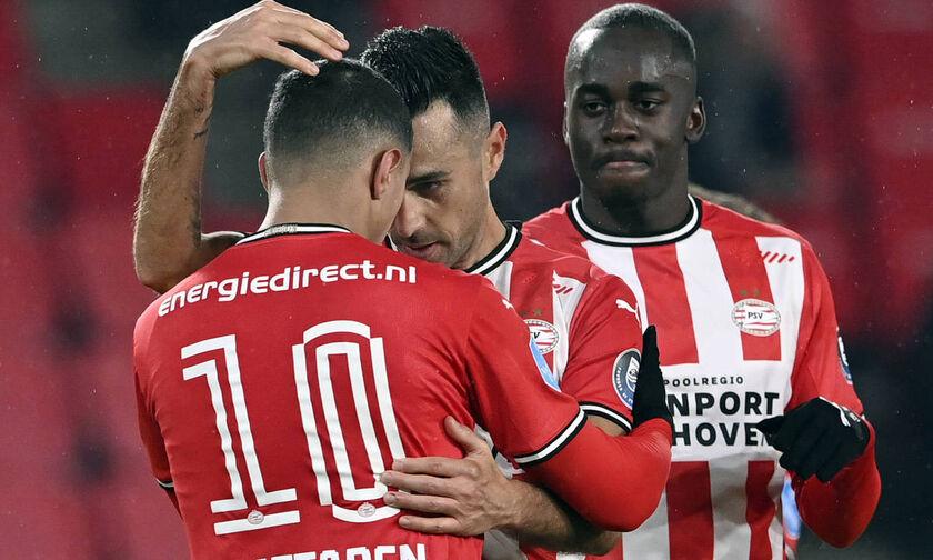 PSV Αϊντχόφεν-Βααλβάικ 2-0: Νίκησε, αλλά έχασε τον Μαντουαεκέ