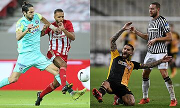 Super League: Στο Περιστέρι ο Ολυμπιακός, ντέρμπι στην Τούμπα