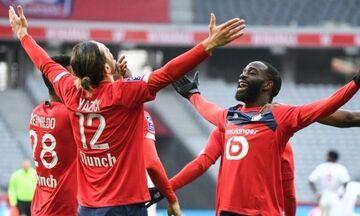 Ligue 1: Η Λιόν «πάτησε» τη Σεντ Ετιέν, η Λιλ από τη Ρεν στην κορυφή (highlights)