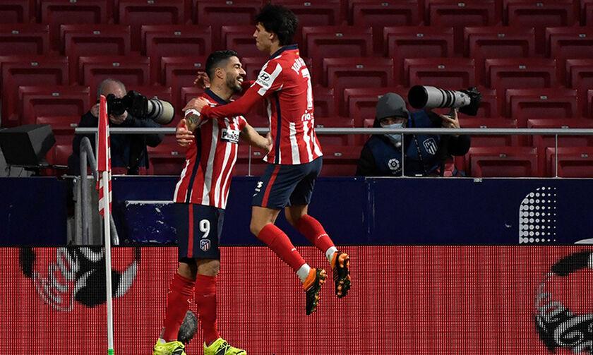 La Liga: Ακάθεκτη η Ατλέτικο στο +7, τρίτη πέρασε η Μπαρτσελόνα (highlights)