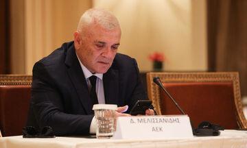 ΑΕΚ: Ξέσπασμα των οπαδών κατά του Μελισσανίδη για τον Παπασταθόπουλο