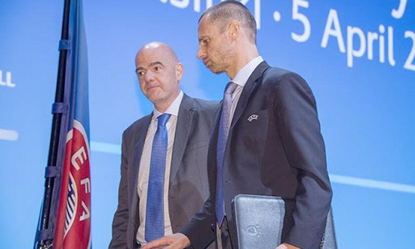 Σύμπραξη UEFA - FIFA κάτα της Ευρωπαϊκής Σούπερ Λίγκας με νέο, πλουσιότερο, Champions League