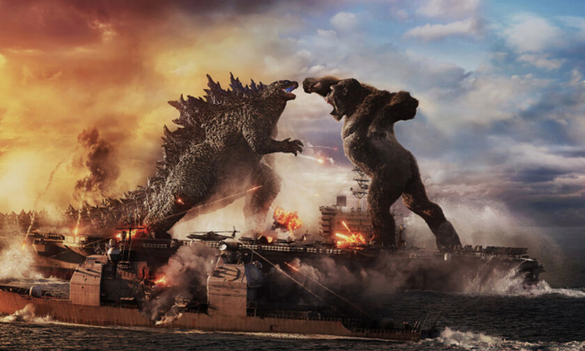 Godzilla vs. Kong: Επιβλητικό το νέο τρέιλερ! (vid)