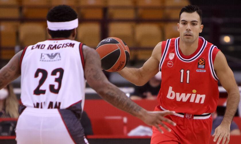 EuroLeague: Δοκιμασία και κίνητρο στο Μιλάνο για Ολυμπιακό