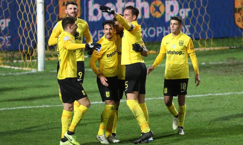 Άρης - ΑΕΛ 1-0: «Κεφάλι»α με Ροζ (highlights)