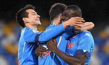 Κύπελλο Ιταλίας: Στα ημιτελικά η Νάπολι, 4-2 τη Σπέτσια (highlights)