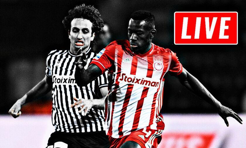 LIVE: Ολυμπιακός - ΠΑΟΚ (19:30)