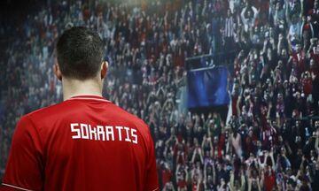 Ολυμπιακός: Το νούμερο που επέλεξε για τη φανέλα του ο Σωκράτης