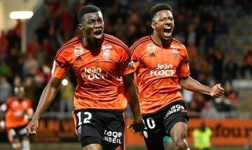 Ligue 1: Νίκη στα... χασομέρια για Λοριάν, 3-2 την Ντιζόν (highlights)