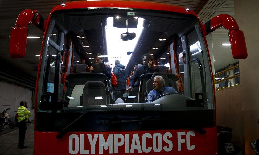 Ολυμπιακός - ΠΑΟΚ: Η άφιξη των δύο αποστολών (vid)