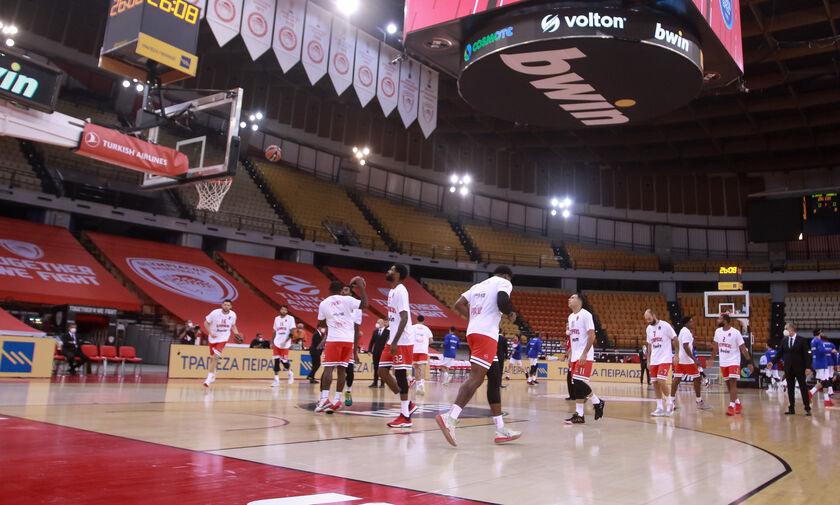 Ολυμπιακός - Μπαρτσελόνα: Προπονήθηκαν στο ΣΕΦ οι Καταλανοί (vid)