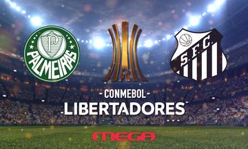 MEGA: Θα δείξει τον τελικό του Κόπα Λιμπερταδόρες, Παλμέιρας - Σάντος