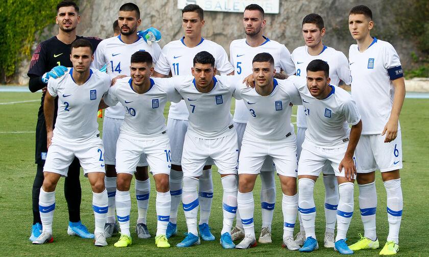 Εθνική Ελπίδων: Οι 5 αντίπαλοι της Ελλάδας στον 4ο προκριματικό όμιλο του Euro 2023