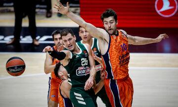 EuroLeague: Με Βαλένθια στο ΟΑΚΑ ο Παναθηναϊκός