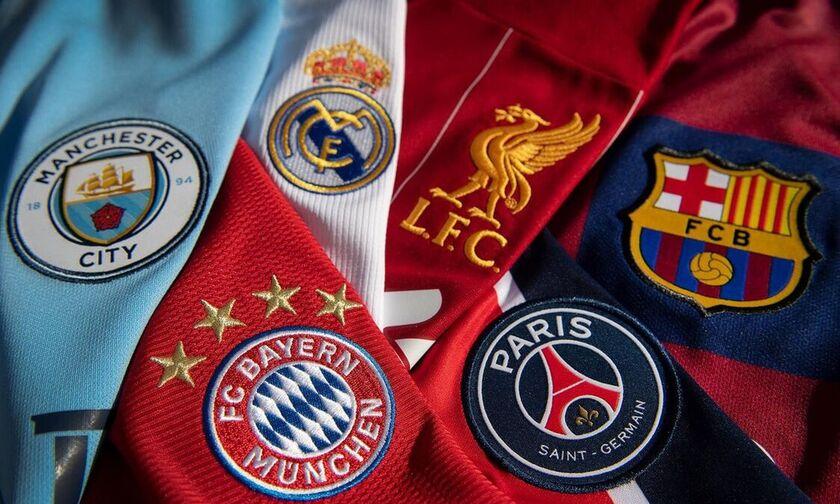 European Super League: Αυτοί είναι οι 15 ιδρυτικοί σύλλογοι!