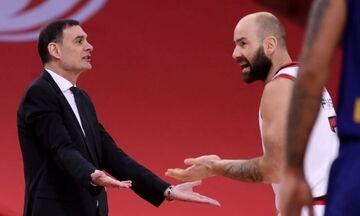 Σπανούλης σε διαιτητές Ολυμπιακός-Μπαρτσελόνα: «Δεν σέβεστε το άθλημα» (pic-vid)