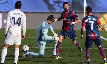 La Liga: Λεβάντε-ς πήρε και... σήκωσε τη Ρεάλ Μαδρίτης, «Χ» στο Βιγιαρεάλ (highlights)