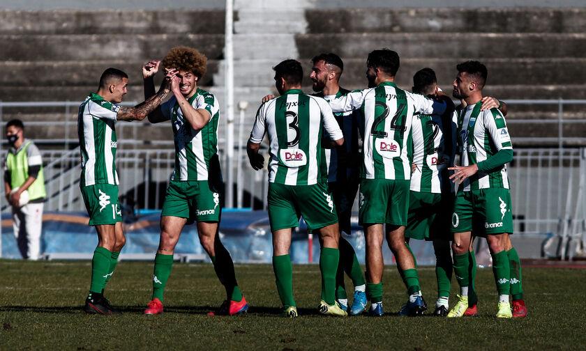 Super League 2: Διπλό ο Λεβαδειακός στα Τρίκαλα (1-3) - Ισοπαλία η Ξάνθη με τα Χανιά (0-0)