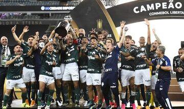 Copa Libertadores: Το σήκωσε η Παλμέιρας του Αμπέλ Φερέιρα με γκολ στο 9ο λεπτό των καθυστερήσεων!