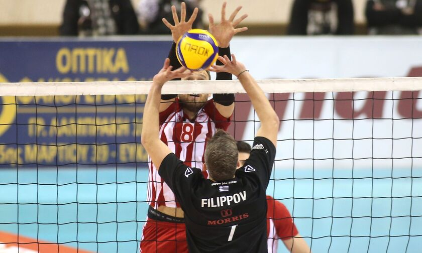 Volley League: Ντέρμπι στην Πυλαία για ΠΑΟΚ και Ολυμπιακό