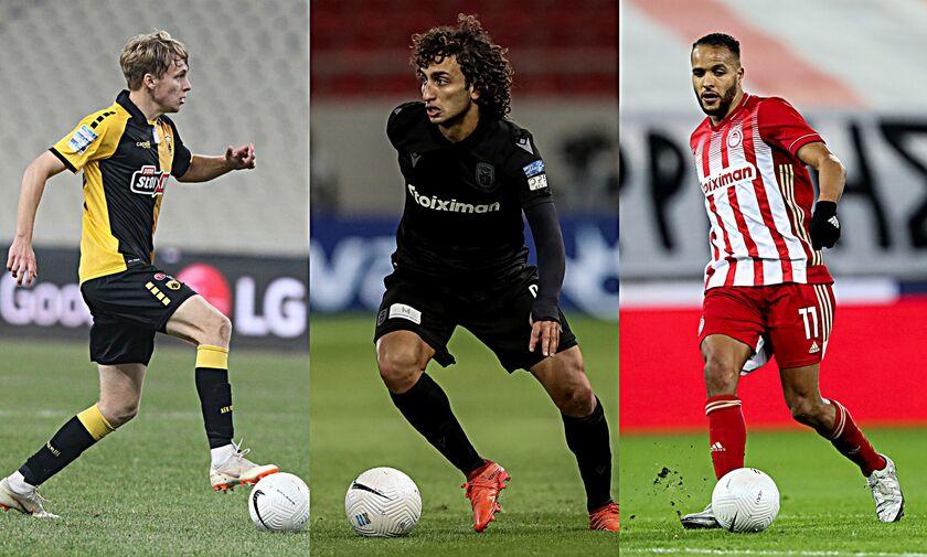 Super League: Στο Ηράκλειο η ΑΕΚ, με Παναιτωλικό ο ΠΑΟΚ, στην Ριζούπολη ο Ολυμπιακός