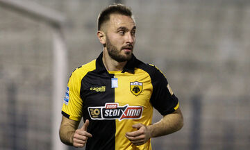 ΟΦΗ - ΑΕΚ: Το γκολ του Τάνκοβιτς για το 0-2 (vid)